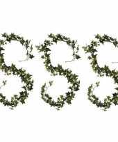 Goedkope x klimop hedera kunstplanten slingers groen 10159772