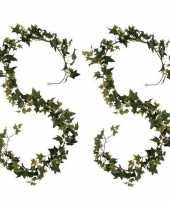 Goedkope x klimop hedera kunstplanten slingers groen