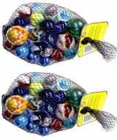 Goedkope x knikkers bonken verschillende formaten kleuren 10157280
