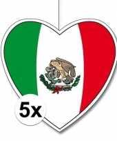 Goedkope x mexico hangdecoratie harten 10145617