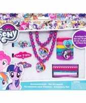 Goedkope x my little pony haaraccessoires sieraden set meisjes