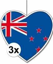 Goedkope x nieuw zeeland hangdecoratie harten 10145496