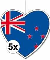 Goedkope x nieuw zeeland hangdecoratie harten 10145497