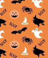 Goedkope x oranje halloween servetten goedkope