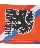 Goedkope x oranje holland leeuw thema servetten papier
