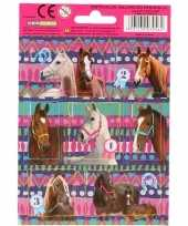 Goedkope x paarden dieren stickers