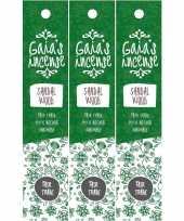 Goedkope x pakje gaias incense luxe wierook stokjes sandelhout geur 10150807