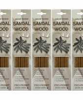 Goedkope x pakje jiri and friends luxe wierook stokjes sandelhout geur 10149664