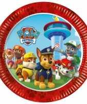 Goedkope x paw patrol feest bordjes 10145104