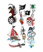 Goedkope x piraten thema plak tattoo stickers