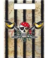Goedkope x piraten thema verjaardag feestzakjes