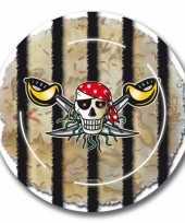 Goedkope x piraten themafeest bordjes