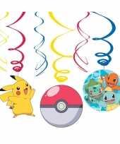 Goedkope x pokemon themafeest rotorspiralen hangdecoratie 10145353
