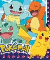 Goedkope x pokemon themafeest servetten 10145359