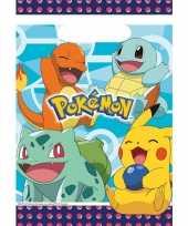 Goedkope x pokemon themafeest uitdeelzakjes 10145363