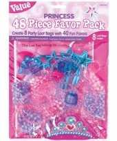 Goedkope x prinsessen themafeest uitdeelzakjes cadeautjes