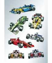 Goedkope x raceauto formule stickers