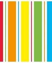Goedkope x regenboog kleuren servetten