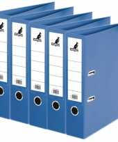 Goedkope x ringband mappen ordners blauw mm a 10163571