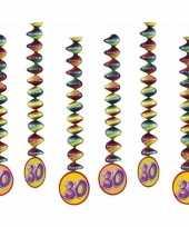 Goedkope x rotorspiralen jaar versiering feestartikelen 10153303