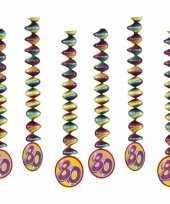 Goedkope x rotorspiralen jaar versiering feestartikelen 10153325