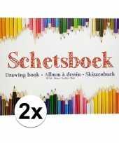 Goedkope x schetsboeken tekenboeken a formaat vellen