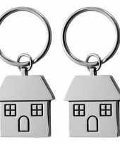 Goedkope x sleutelhangers huisje 10149006