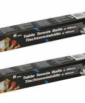 Goedkope x speelgoed tafeltennis ping pong balletjes wit 10148924