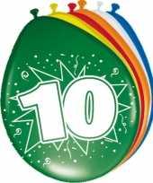 Goedkope x stuks ballonnen versiering jaar 10122517