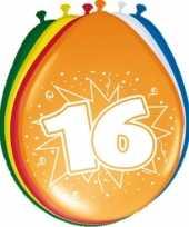 Goedkope x stuks ballonnen versiering jaar 10123003