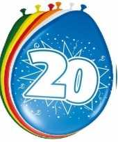 Goedkope x stuks ballonnen versiering jaar 10123009