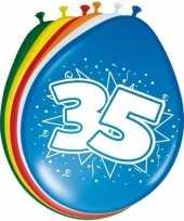 Goedkope x stuks ballonnen versiering jaar 10123019