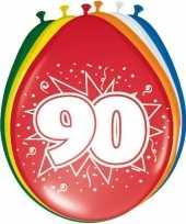 Goedkope x stuks ballonnen versiering jaar 10123065