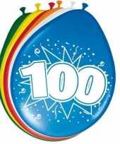 Goedkope x stuks ballonnen versiering jaar 10123069