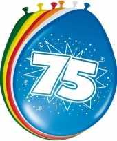 Goedkope x stuks ballonnen versiering jaar leeftijd 10122520