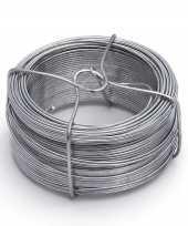 Goedkope x stuks ijzerdraad binddraad binddraden staal verzinkt mm m