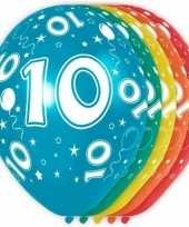 Goedkope x stuks jaar thema versiering heliumballonnen 10130737