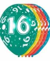 Goedkope x stuks jaar thema versiering heliumballonnen 10130738
