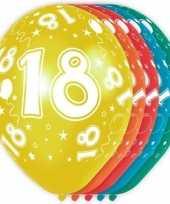 Goedkope x stuks jaar thema versiering heliumballonnen 10130739