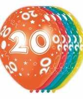 Goedkope x stuks jaar thema versiering heliumballonnen 10130741
