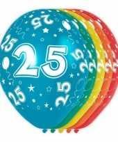 Goedkope x stuks jaar thema versiering heliumballonnen 10130743