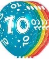 Goedkope x stuks jaar thema versiering heliumballonnen 10130748