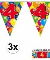 Goedkope x vlaggenlijn jaar gratis sticker 10092910