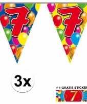 Goedkope x vlaggenlijn jaar gratis sticker 10092917