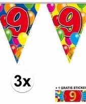 Goedkope x vlaggenlijn jaar gratis sticker 10092919