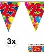 Goedkope x vlaggenlijn jaar gratis sticker 10092924