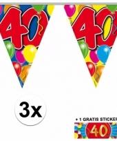 Goedkope x vlaggenlijn jaar gratis sticker 10092927