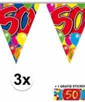 Goedkope x vlaggenlijn jaar gratis sticker 10092928