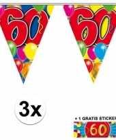 Goedkope x vlaggenlijn jaar gratis sticker 10092930