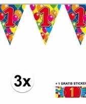 Goedkope x vlaggenlijn jaar gratis sticker